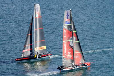 The excitement continues in the America's Cup
